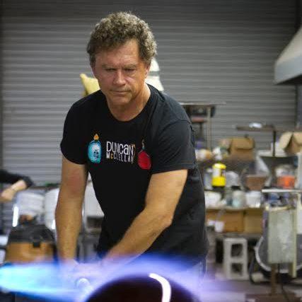 Duncan McClellan, Glass Artist